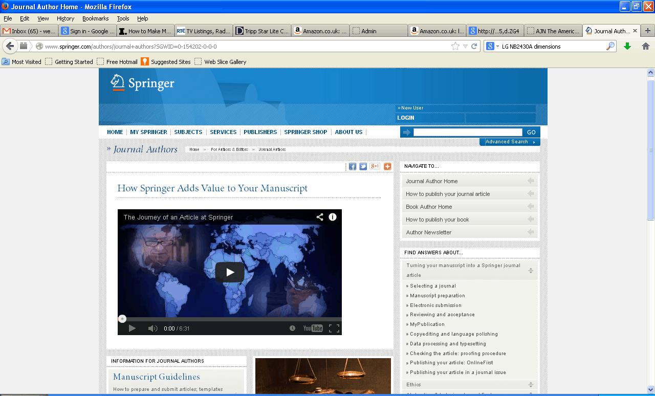 Website of Journal Publisher